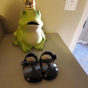 Ugg Baby Walker leather sandals